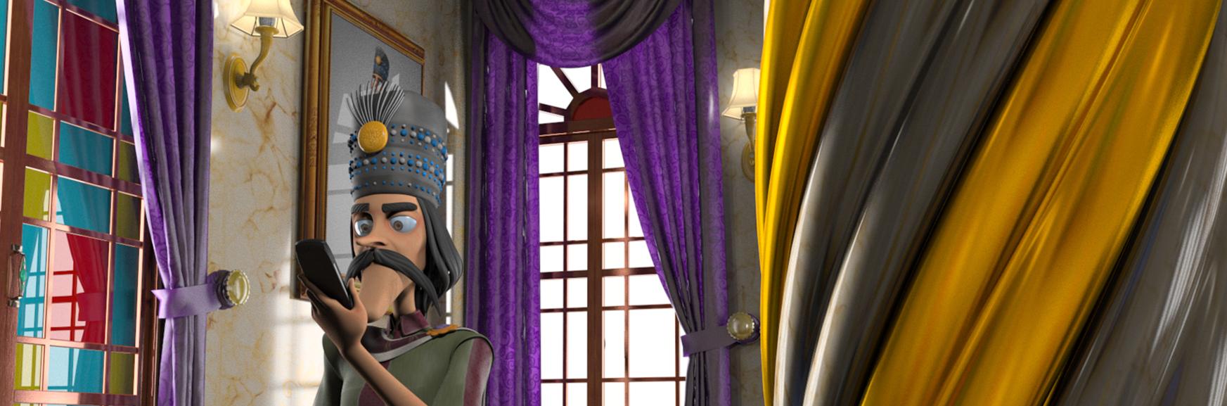 سریال انیمیشن سلطان